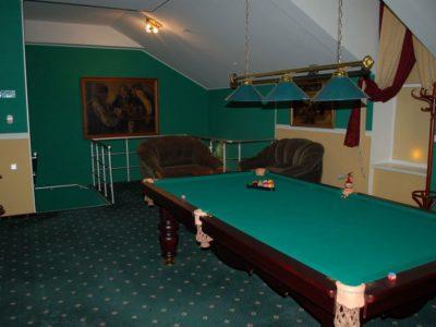 Бильярд в Караоке-клубе «Каштан»